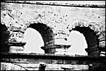 photo Le Pont du Gard (N&B)