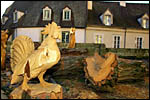 photo Sculpture d'un coq