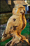 photo Sculpture d'un hibou