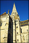 photo La flèche de la cathédrale St Lazare
