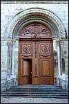 photo La porte de l'église