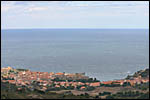 photo Collioure depuis les collines