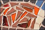 photo Détail d'une mosaïque