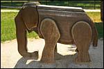 photo L'éléphant du Parc de la Colombière