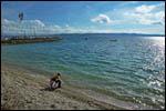 photo L'eau bleue du Lac