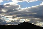 photo Silhouette du Fort St Elme