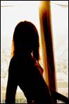 photo Contre jour devant la fenêtre