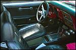 photo Intérieur d'une Corvette
