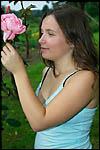 photo Kiluna dans son jardin