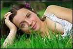 photo Etendue dans l'herbe