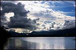 photo Nuages au dessus du Lac