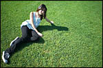 photo Sur l'herbe