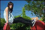 photo Maëva acrobate
