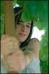 photo Maëva dans l'arbre