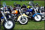 photo Alignement de motos