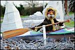 photo L'esquimau dans son canoë