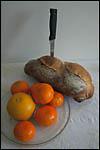 photo Le pain et les fruits