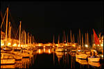 photo La nuit sur le port