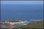 photo Port-Vendres depuis les collines
