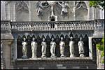photo Les statues de la cathédrale