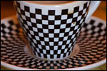 photo La tasse à damier
